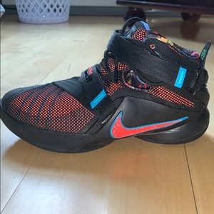 5293d480681b Nike Shoes - Nike Lebron James 9 Soldiers OKC